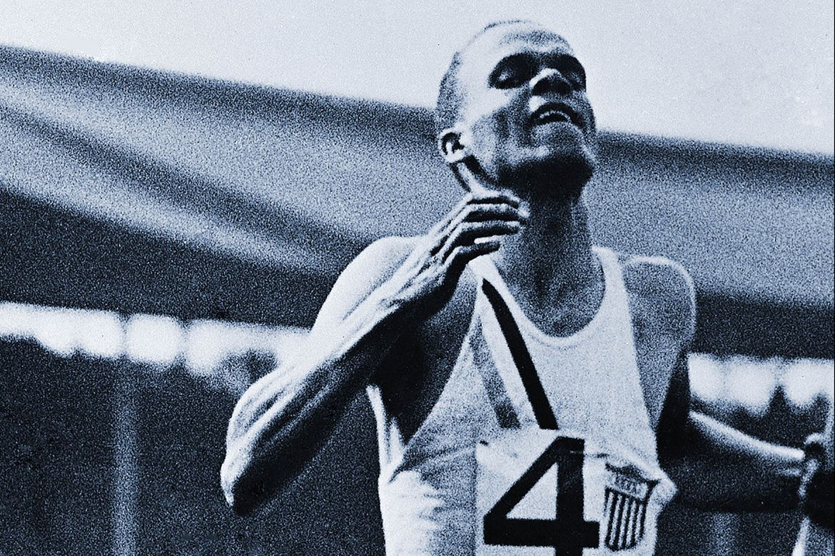 Jimmy LuValle at the 1936 Olympics