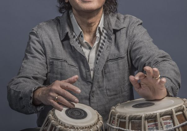 Click to open the large image: Zakir Hussain and Masters of Percussion