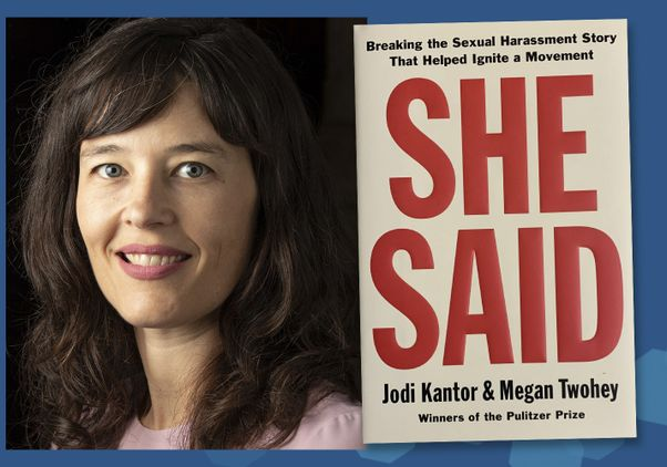 Click to open the large image: She Said — How Journalist Megan Twohey Uncovered a Hollywood Scandal