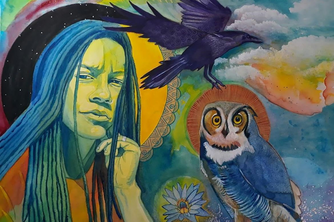 Raven and Owl