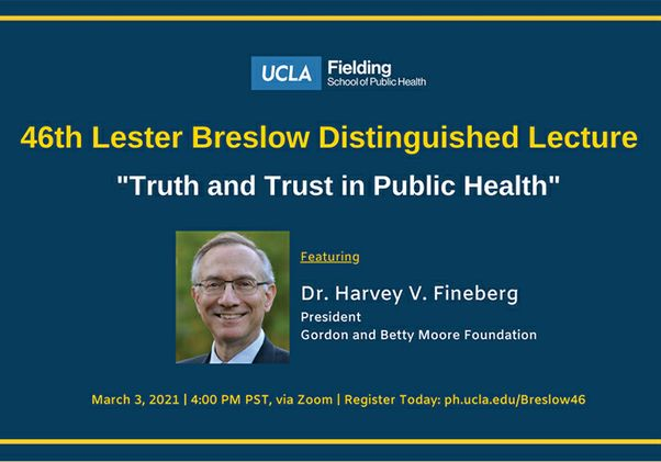 """""""Truth and Trust in Public Health"""""""