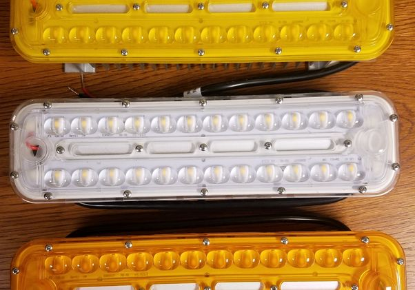 Click to open the large image: Three LED lamps