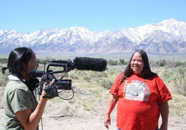 Click to open the large image: Ann Kaneko with Kathy Bancroft