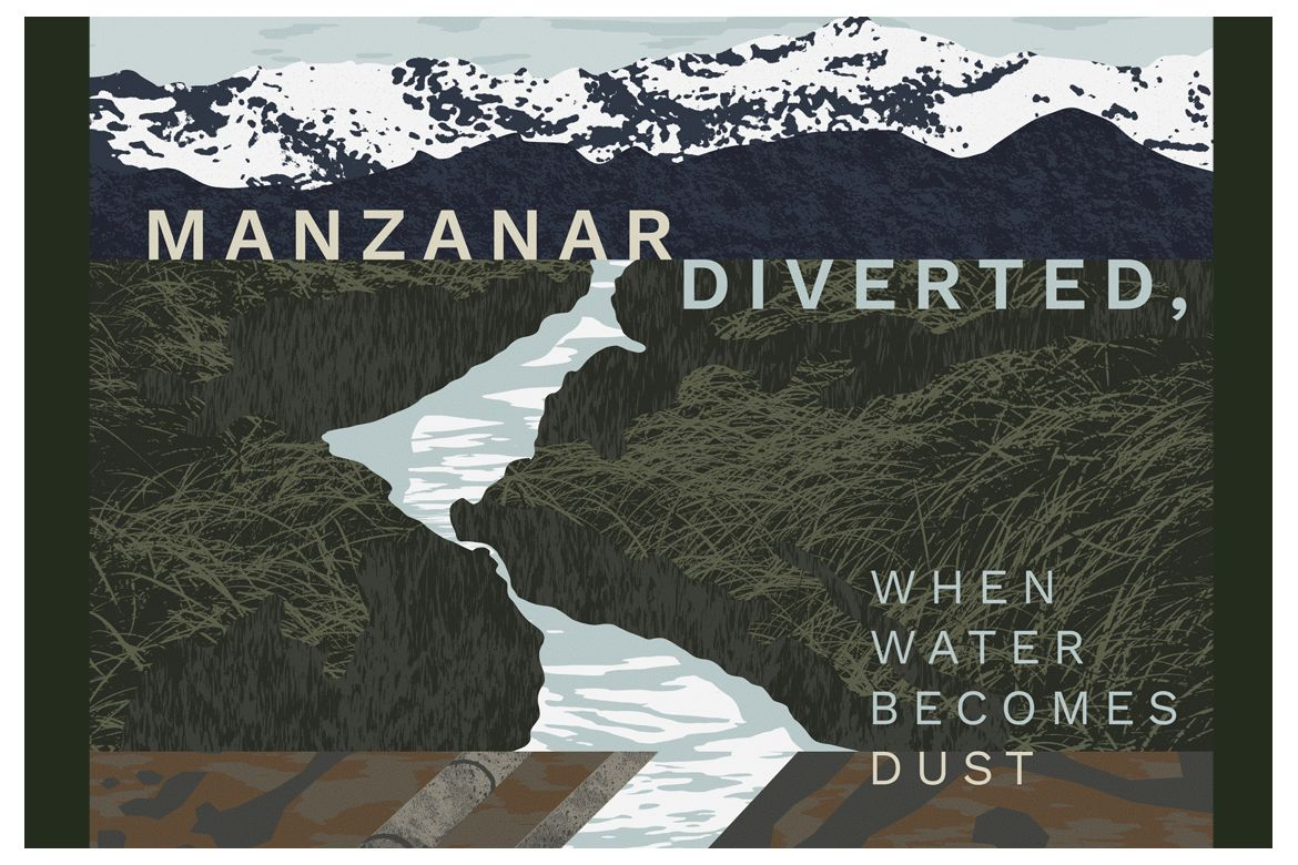 "Poster of ""Manzanar Diverted"""