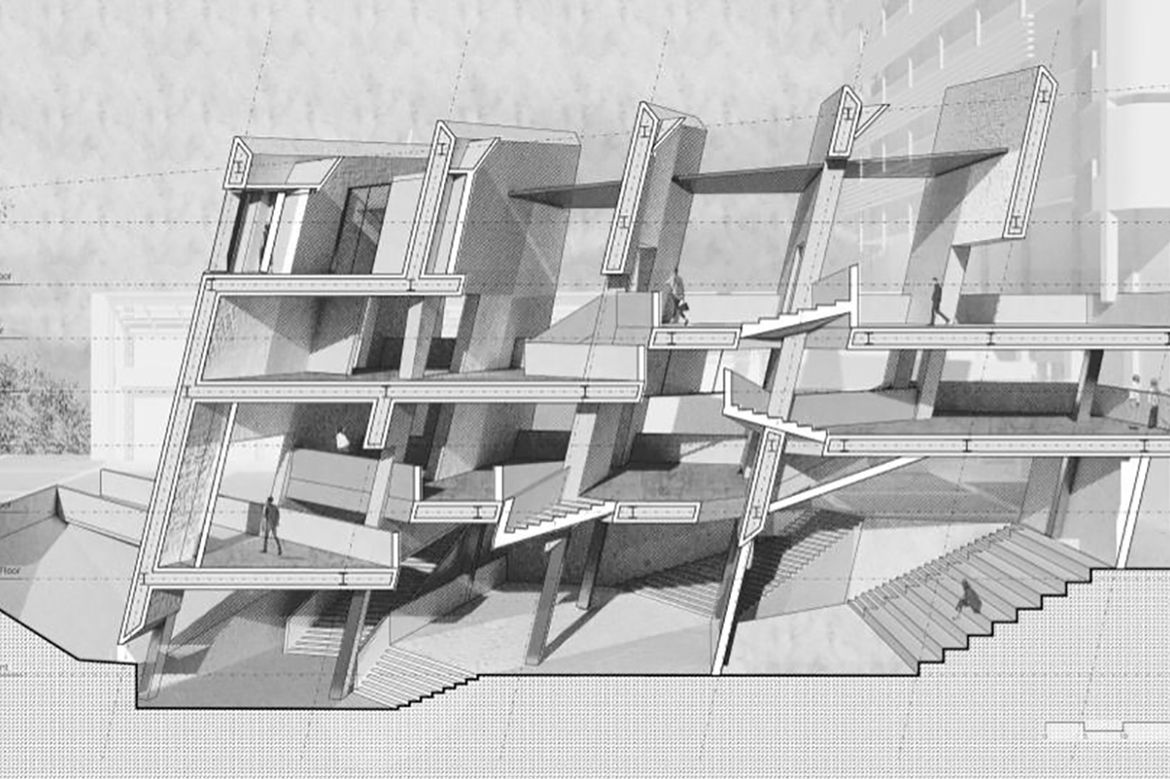 UCLA Arts AEDI Center created by Morgane Copp and Wei Qiu