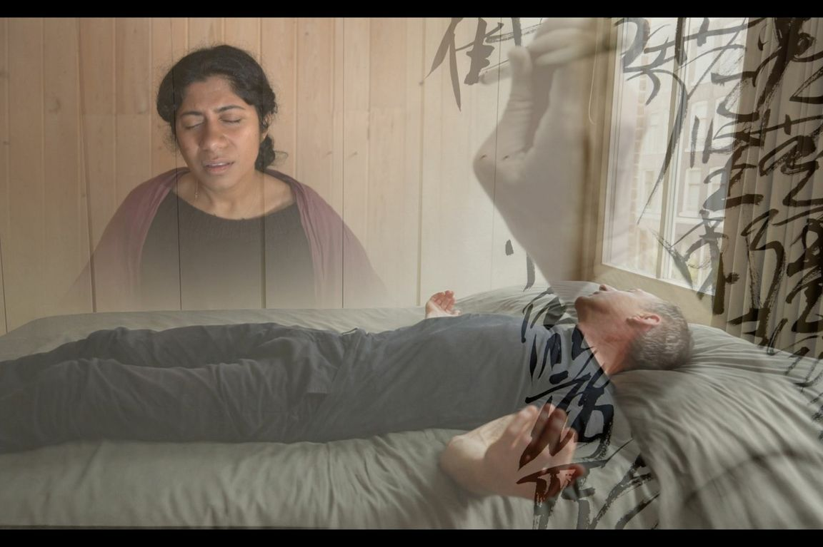 A scene from 'this body is so impermanent …'