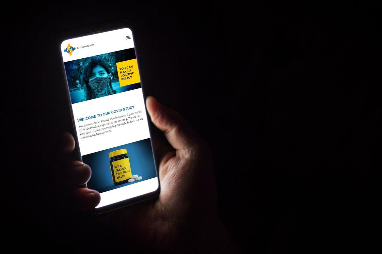 UCCS smartphone screen
