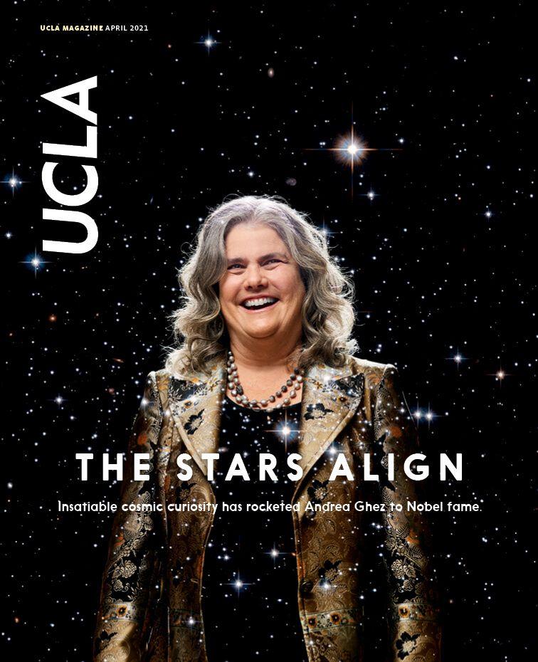 UCLA Magazine April 2021 Cover