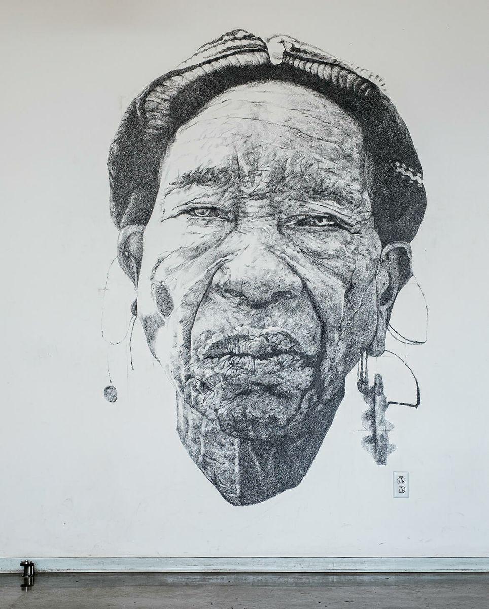 Head of a Woman III