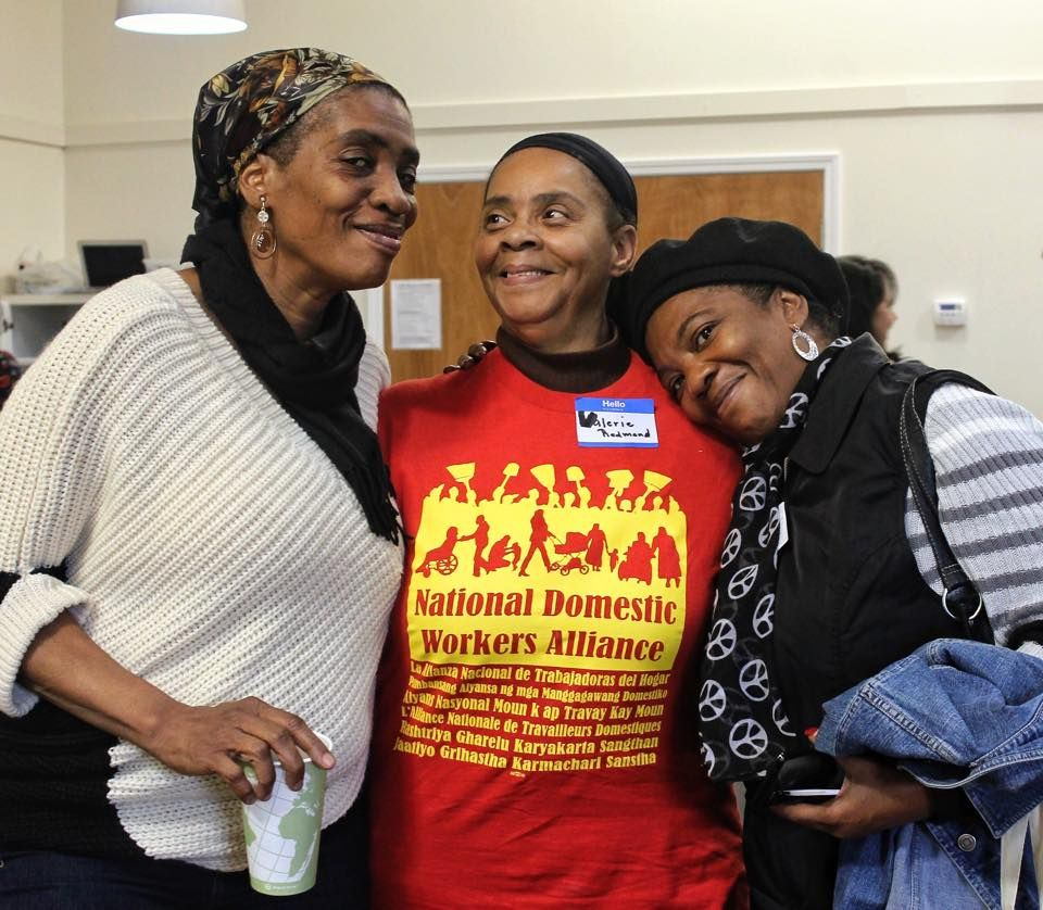 Members of the National Domestic Worker Association