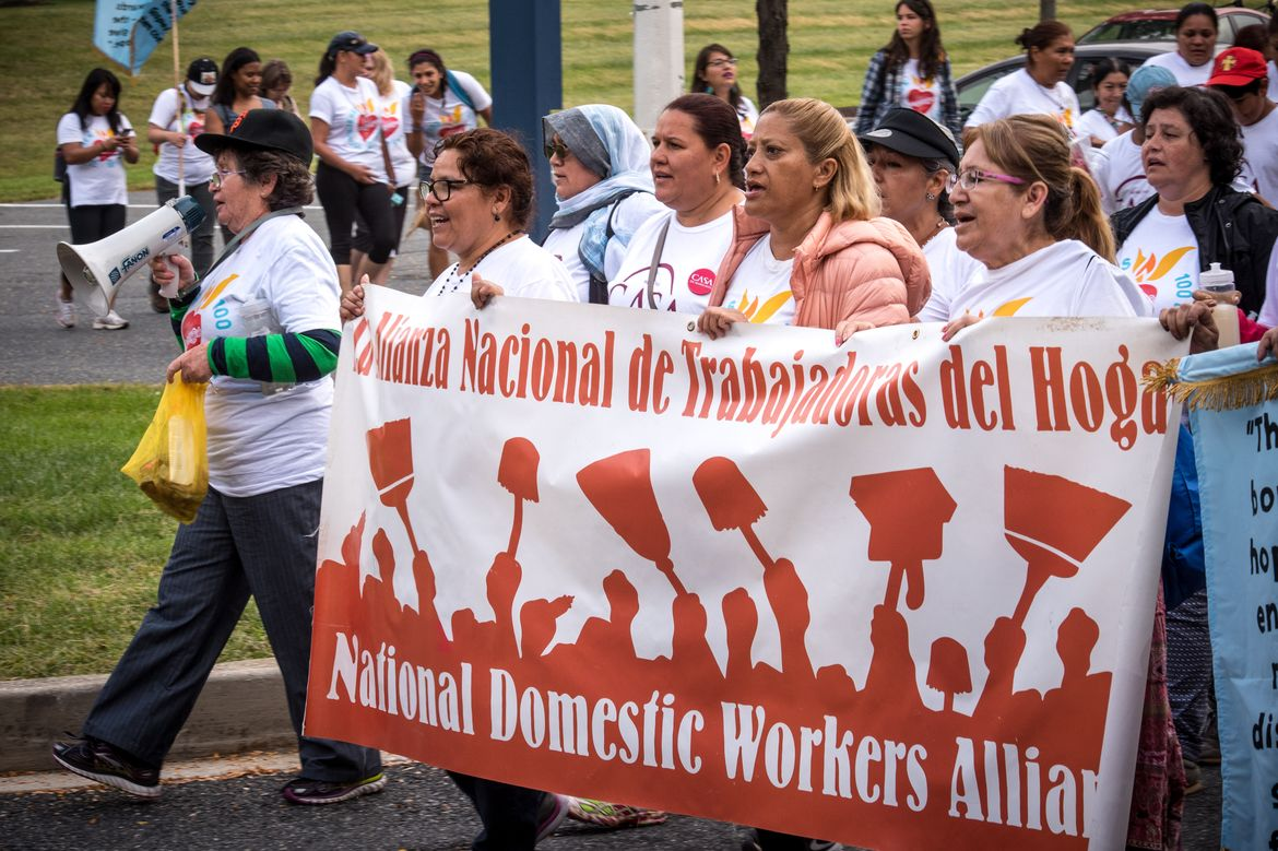 National Domestic Workers Alliance - Pilgrimage to the Pope