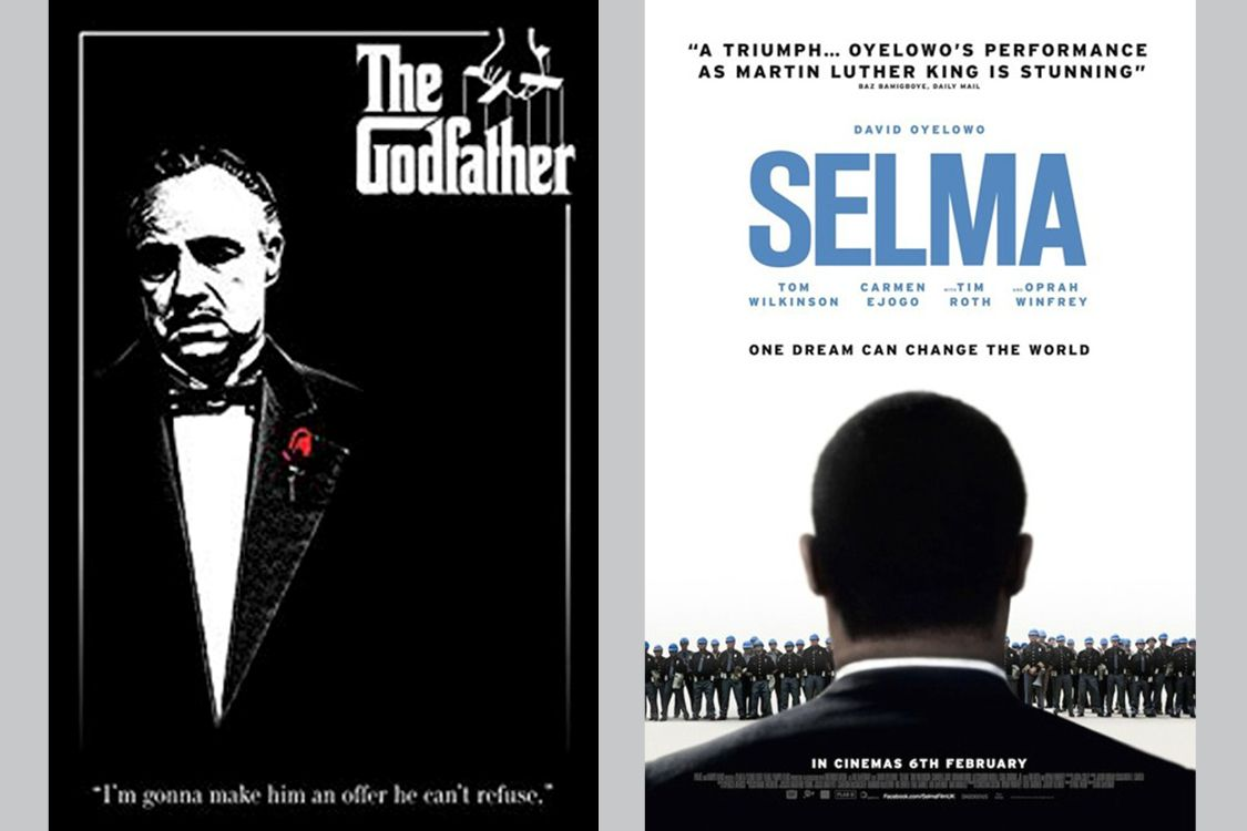 Francis Ford Coppola's The Godfather and Ava DuVernay's Selma