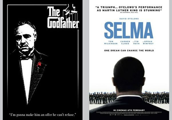 Click to open the large image: The Godfather and Selma