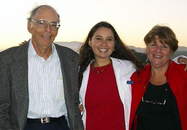 Dr. Elizabeth Barnert and her parents