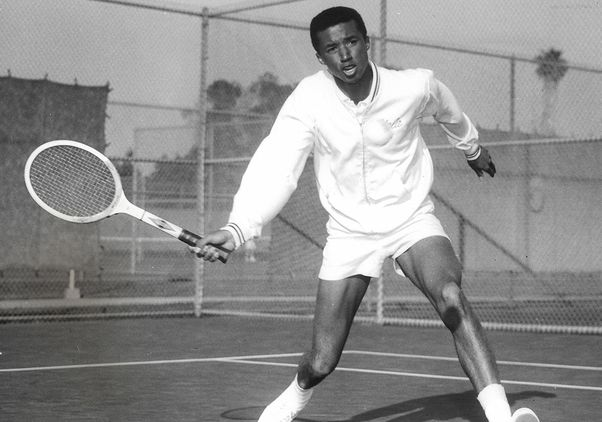 Click to open the large image: Arthur Ashe