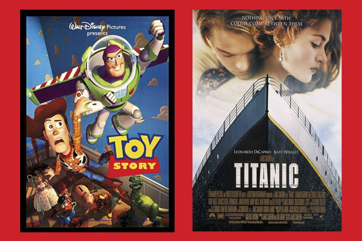 Toy Story and Titanic are among films that have been scored by Bruins.