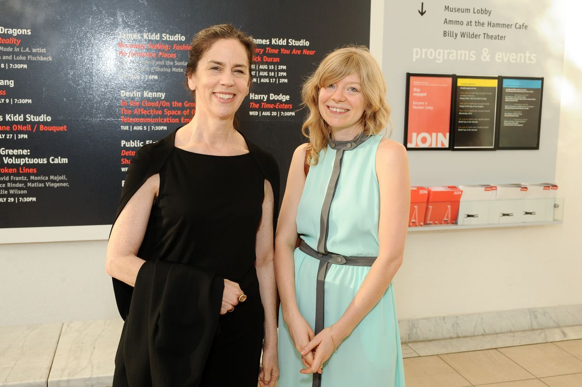 Connie Butler and Lauren Mackler