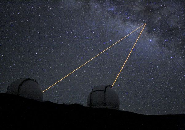 Click to open the large image: W.M. Keck Observatory