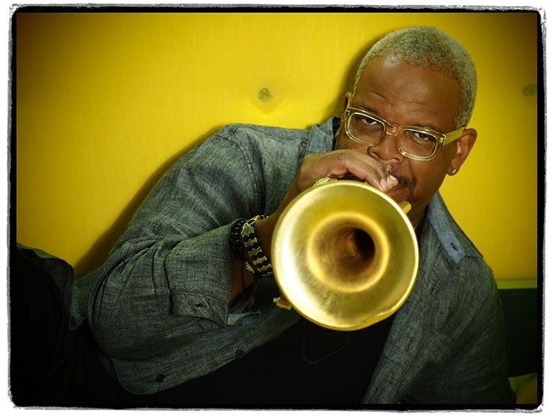 Terence Blanchard and his trumpet