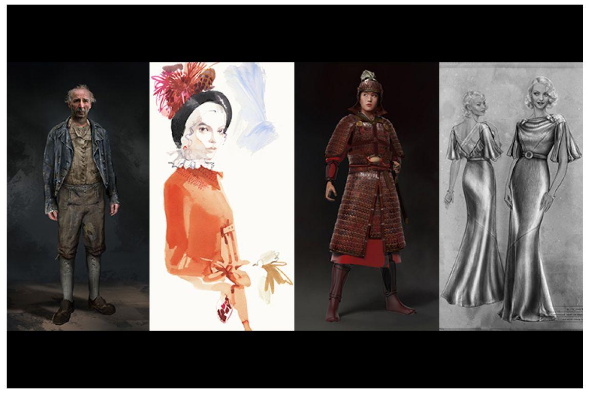 Costume sketches