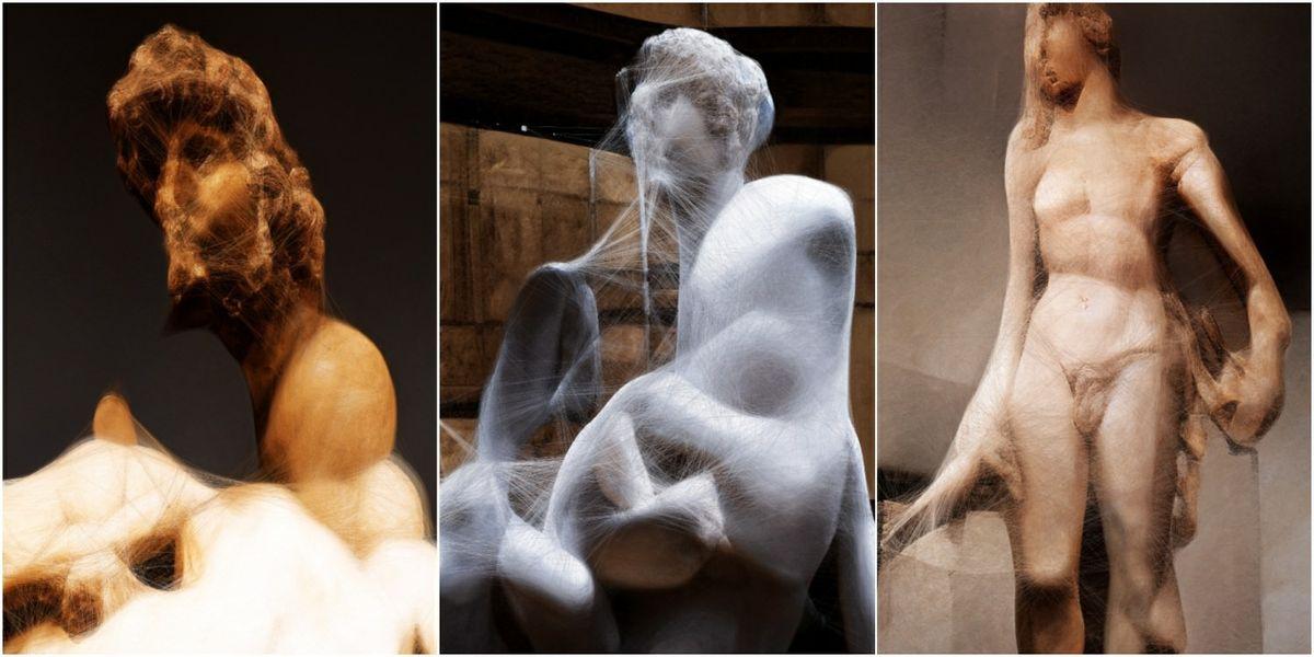 """""""Machine Hallucinations: Renaissance / Sculpture"""""""