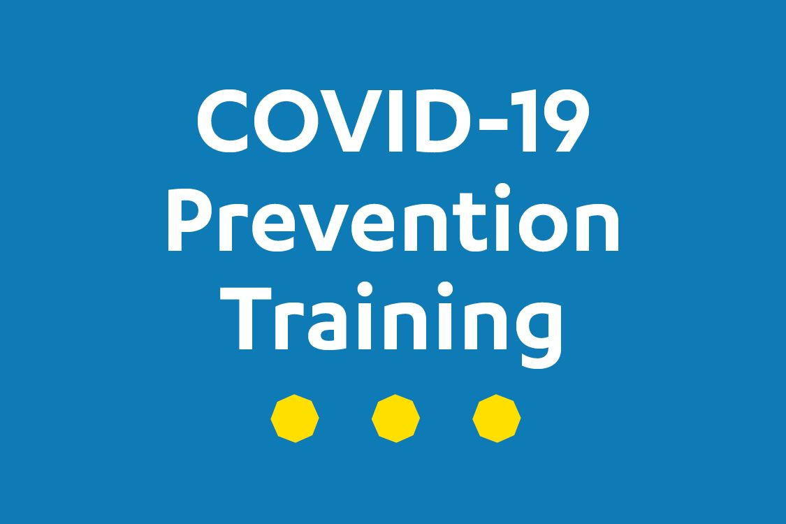 COVID-19 prevention training