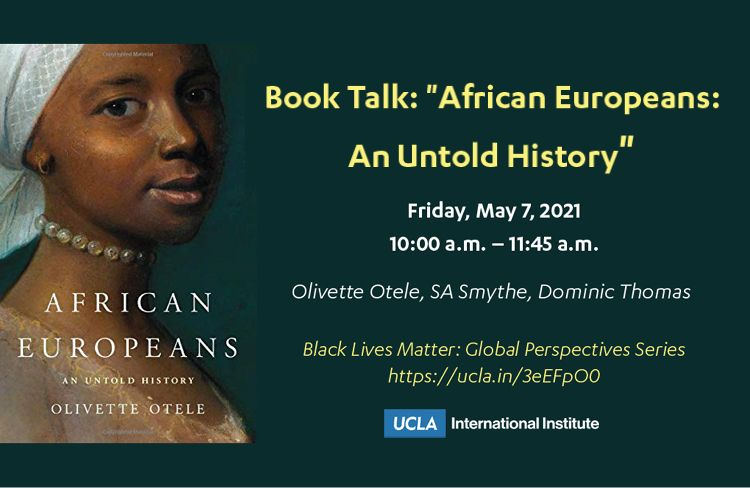 "Book Talk: ""African Europeans: An Untold History"""