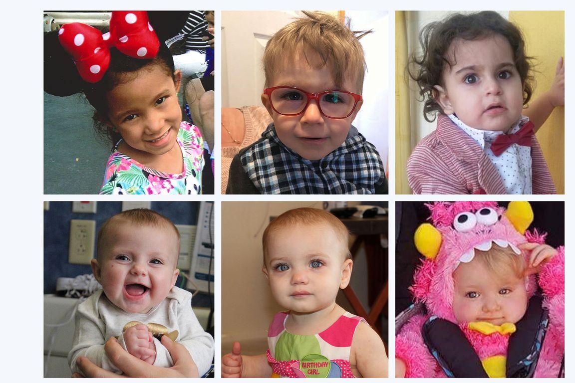 Children in SCID clinical trials