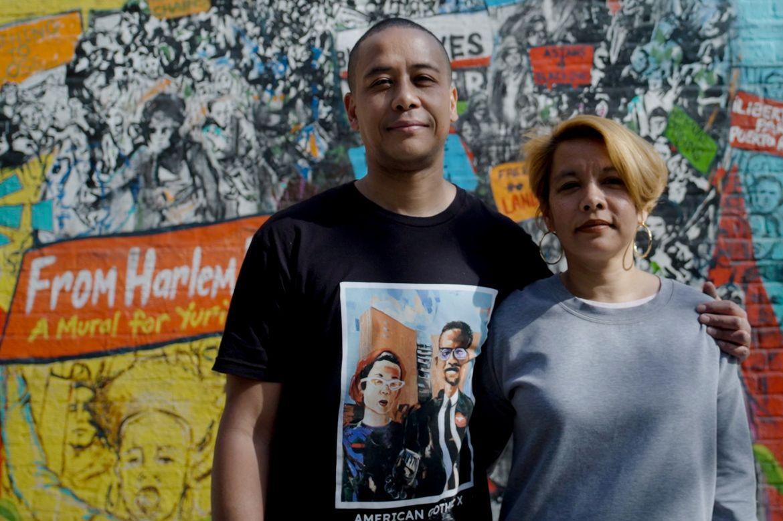 Zulu Williams and Akemi Kochiyama