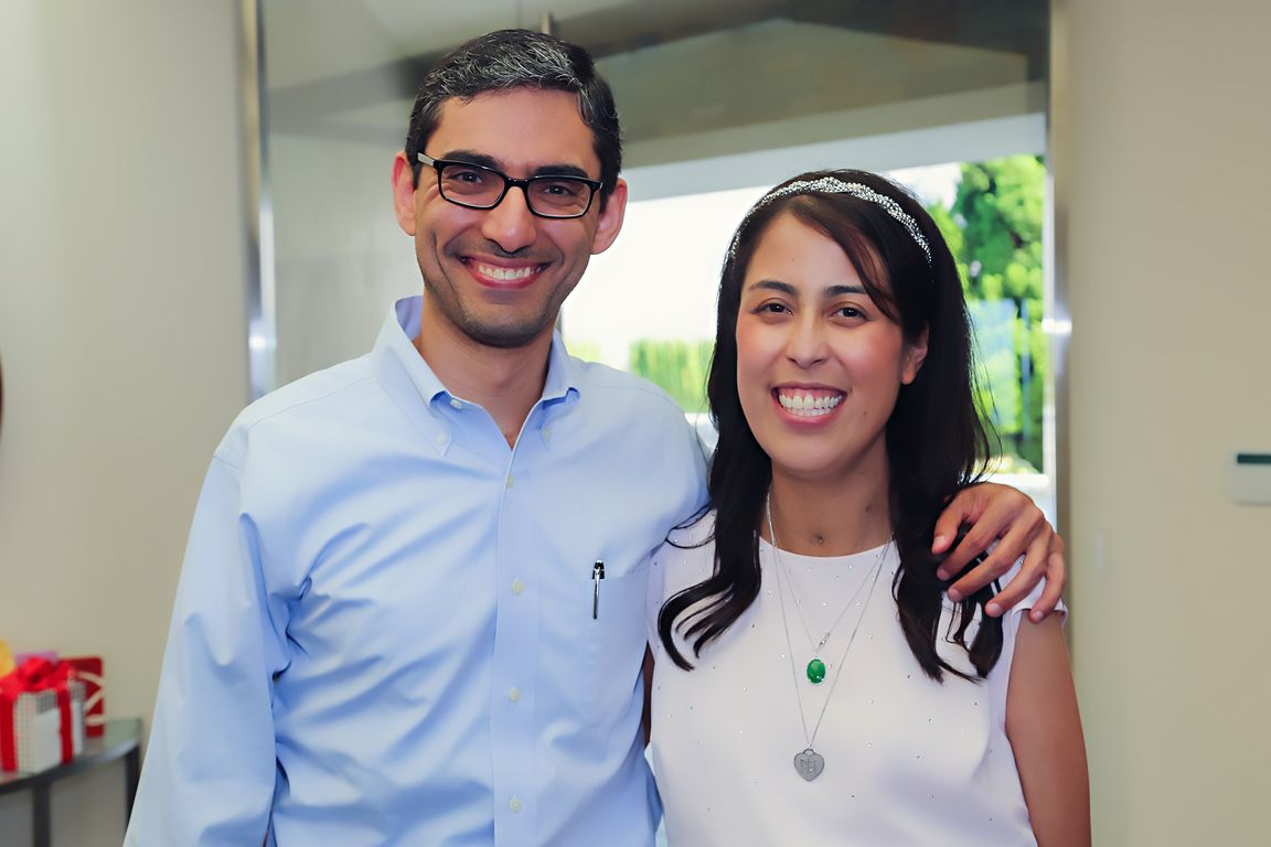 Dr. Fady Kaldas and Kelly Lee Tarantello