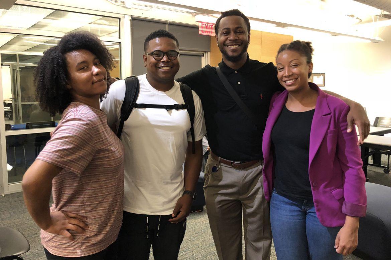 Bruin Guardian Scholars students