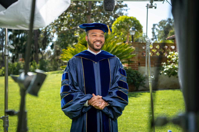D'Artagnan Scorza - UCLA Commencement 2021