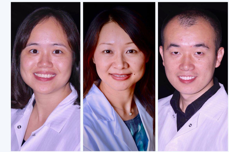 Yang lab portraits