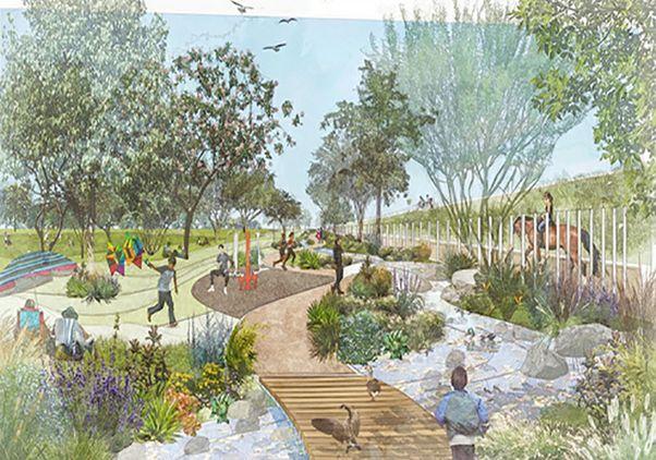 DeForest Park rendering