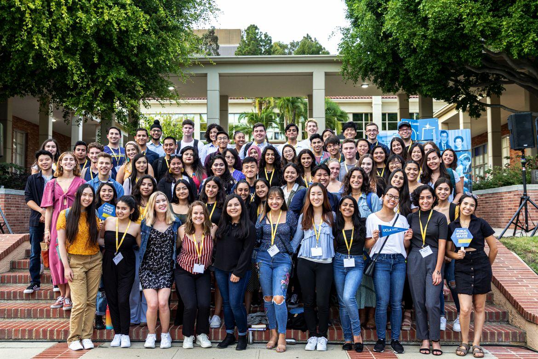 Photo of UCLA Luskin undergraduate class of 2021