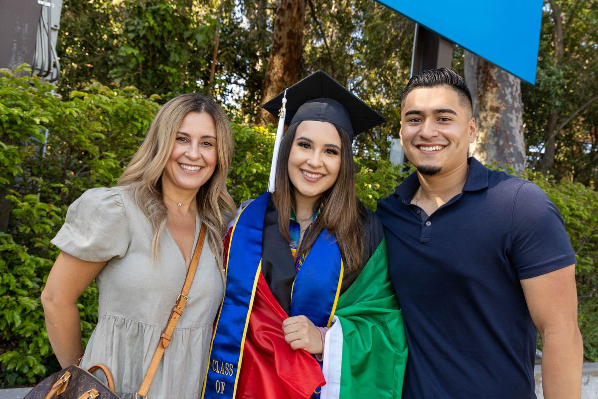 UCLA Commencement 2021 - family