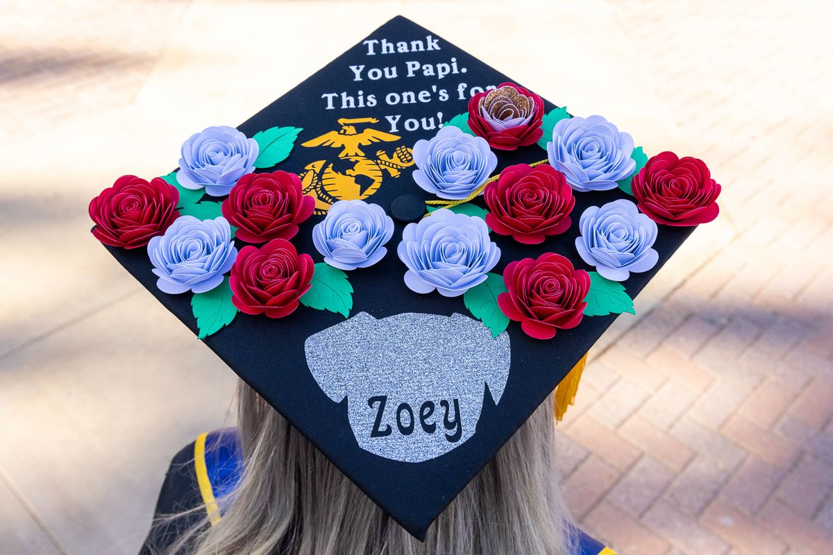 UCLA Commencement 2021 - mortarboard