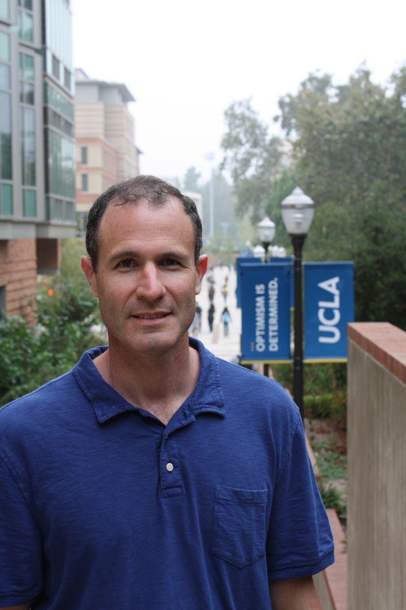 Alan Castel at UCLA
