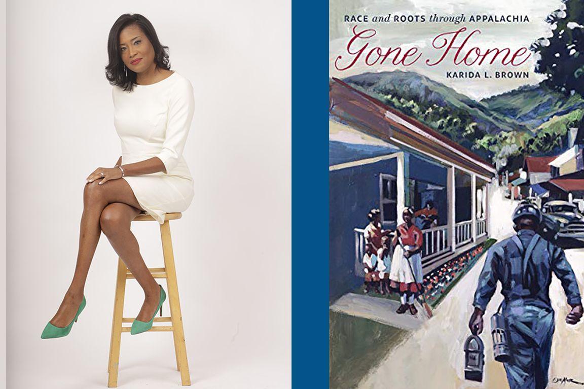 Karida Brown and Gone Home book