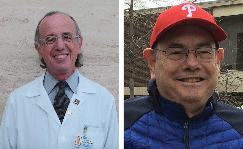 Dr. Gabriel Danovitch and Dr. Robert Ettenger