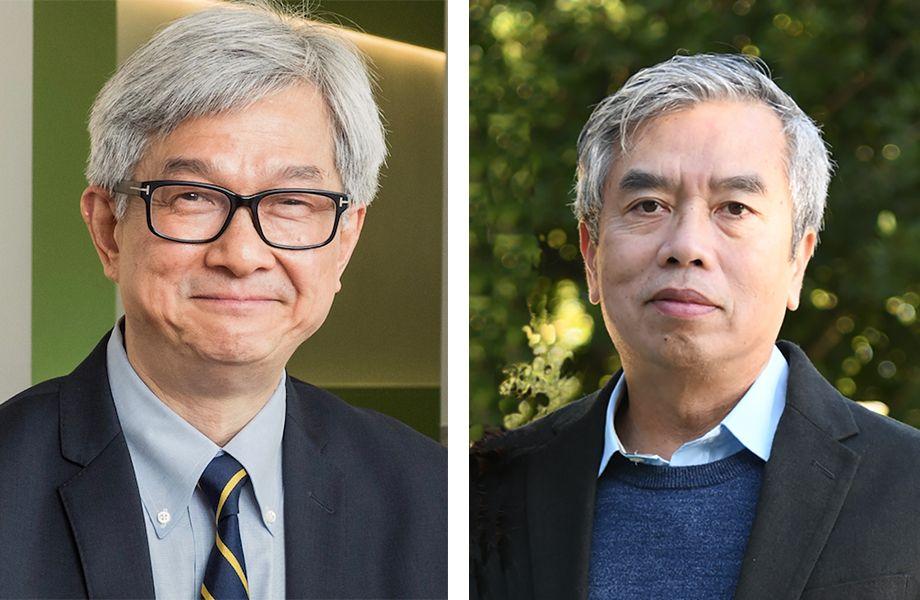 David Wong and Hung Ton-That