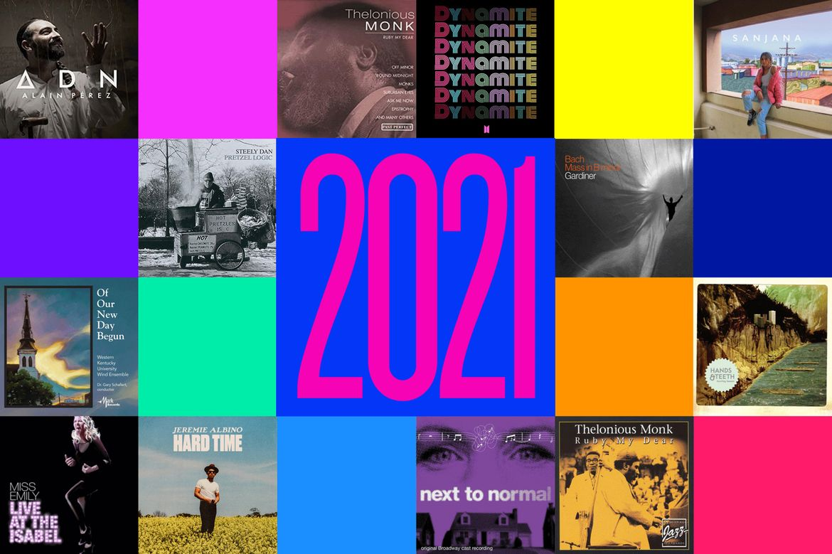 2021 music collage