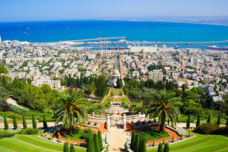 View from Haifa