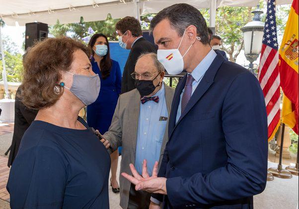 Barbara Fuchs and Pedro Sánchez