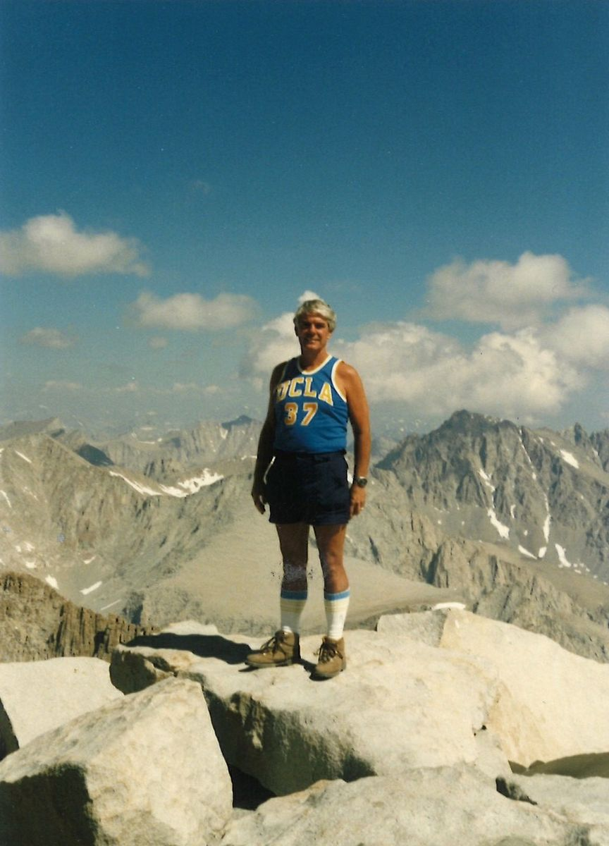 U.S. Rep. Jerry Lewis on Mt. Whitney