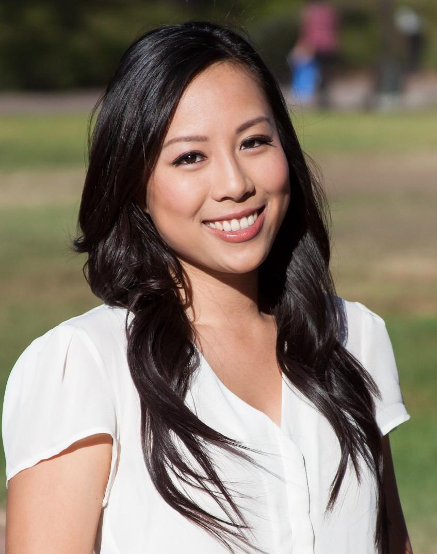 Portrait of Tiffany Tran outdoors