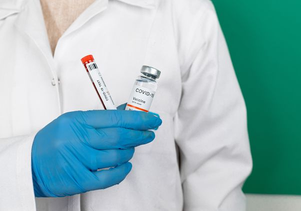 Covid vaccine and test
