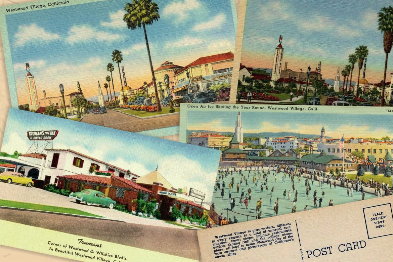 Vintage Westwood Village postcards