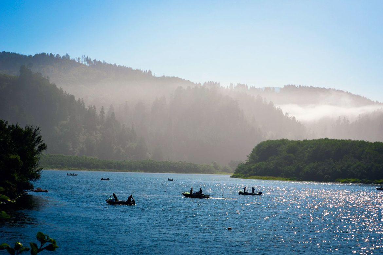Fishing on the Klamath River