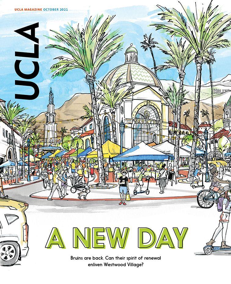 UCLA Magazine October 2021 Cover